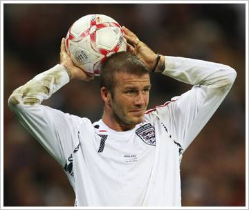 David Beckham's soccer teamwork quotes